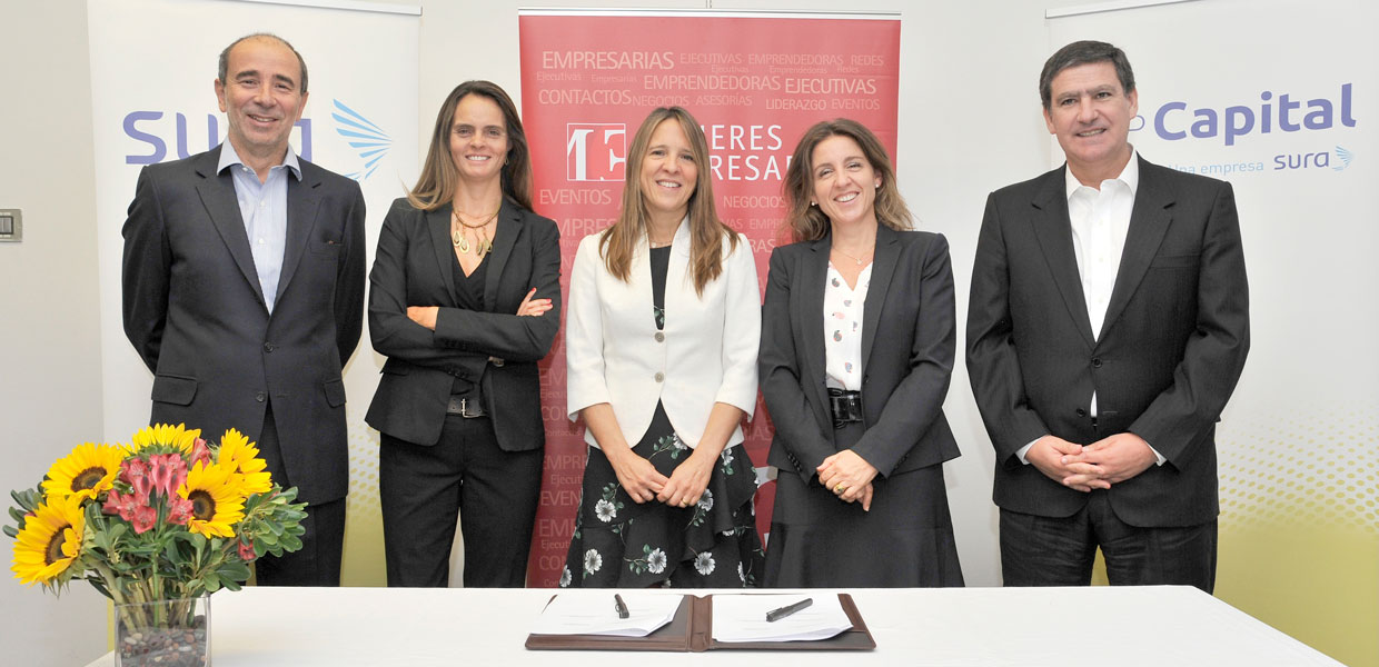 SURA, AFP Capital and Mujeres Empresarias renew collaboration partnership